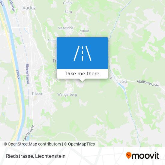 Riedstrasse map