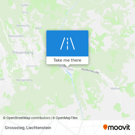 Grosssteg map