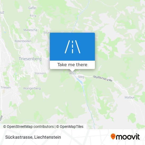 Sückastrasse map