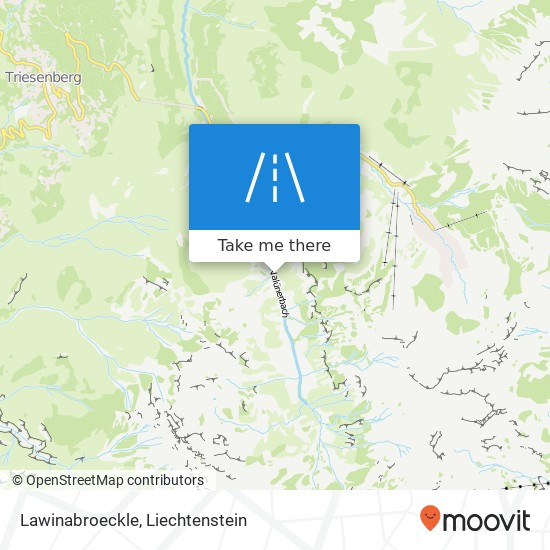 Lawinabroeckle map