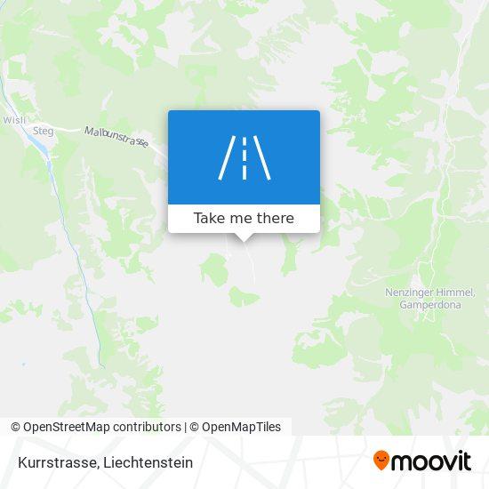 Kurrstrasse map