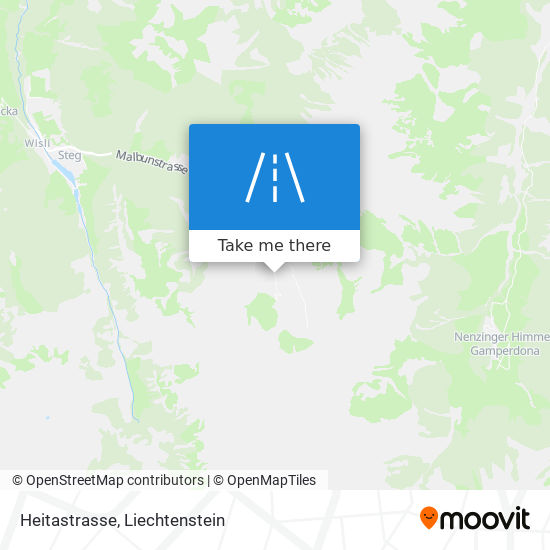 Heitastrasse map