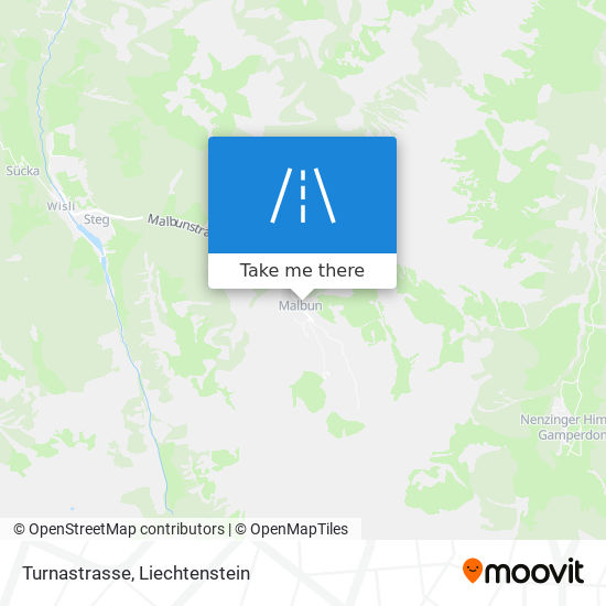 Turnastrasse map