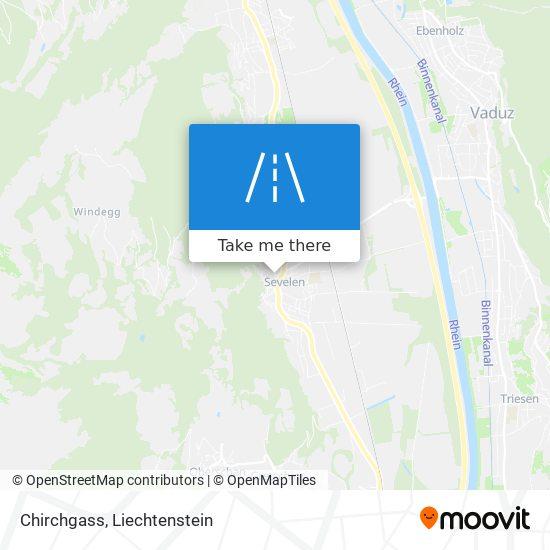 Chirchgass map
