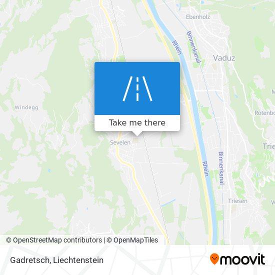 Gadretsch map