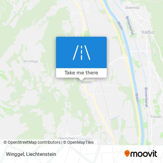 Winggel map