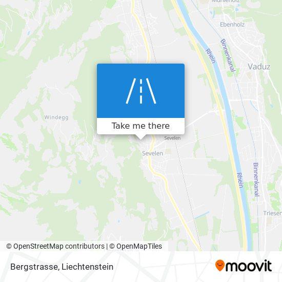 Bergstrasse map