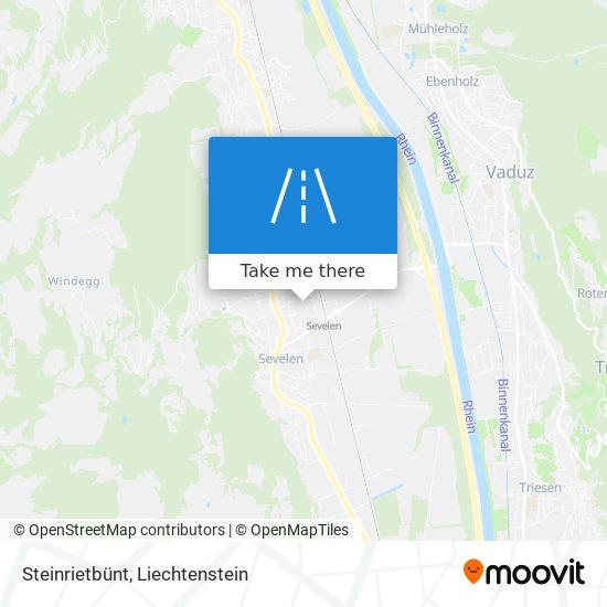 Steinrietbünt map
