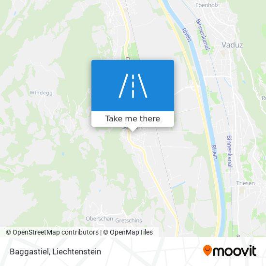 Baggastiel map
