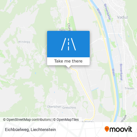 Eichbüelweg map