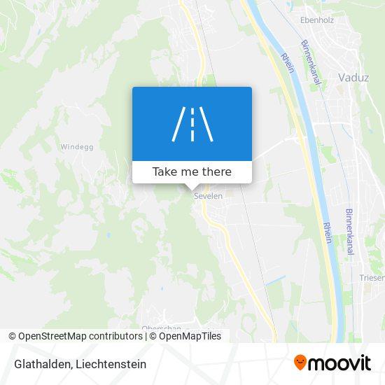 Glathalden map