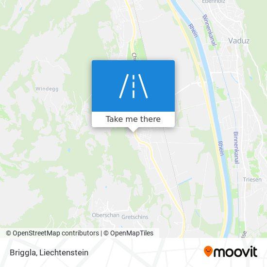 Briggla map