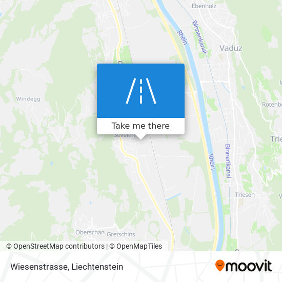 Wiesenstrasse map