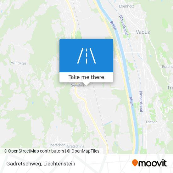 Gadretschweg map