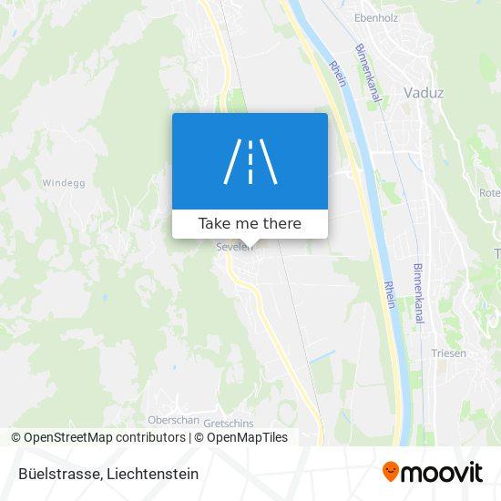 Büelstrasse map