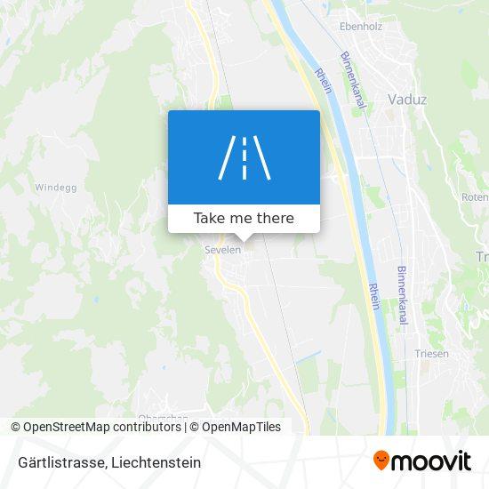 Gärtlistrasse map