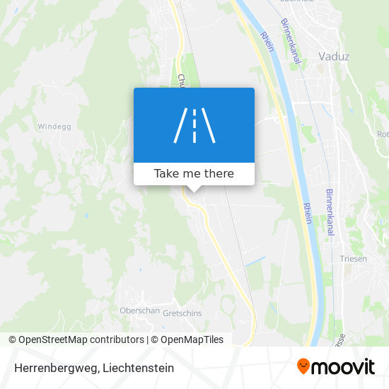 Herrenbergweg map