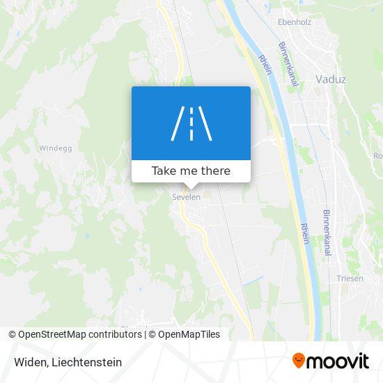 Widen map
