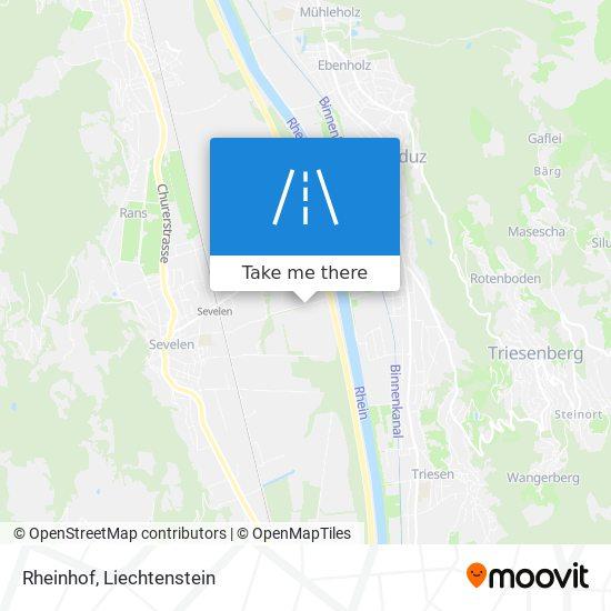 Rheinhof map