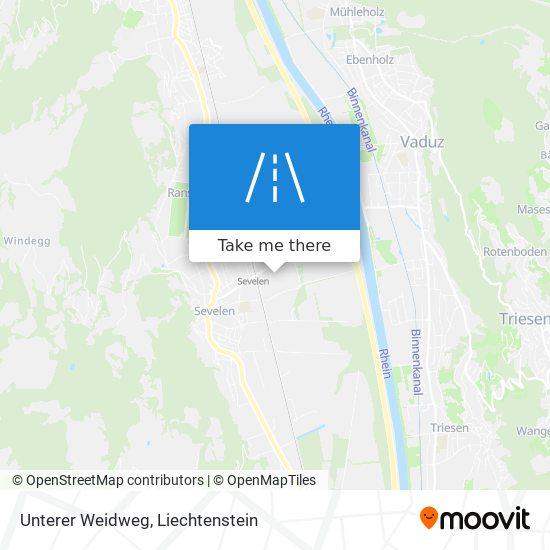 Unterer Weidweg map