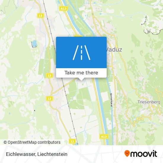 Eichlewasser map