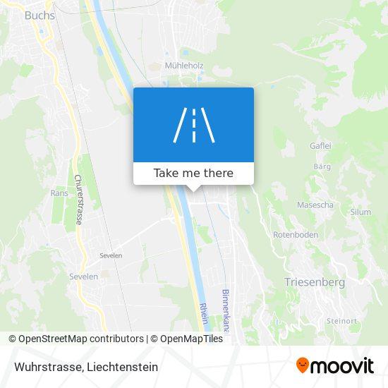 Wuhrstrasse map