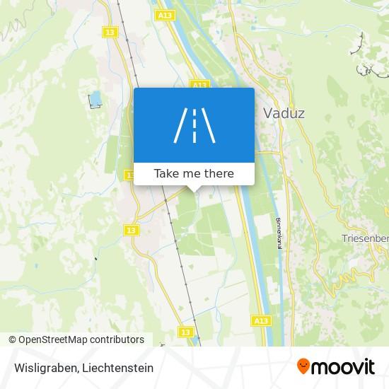 Wisligraben map