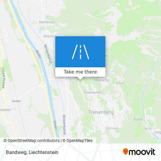 Bandweg map