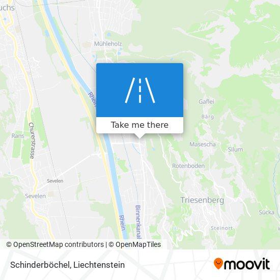 Schinderböchel map