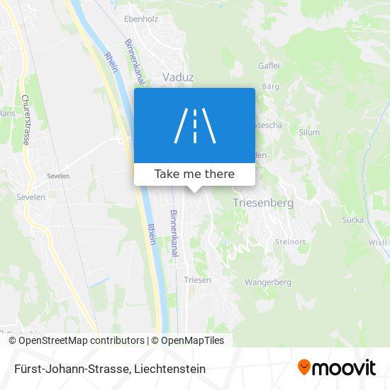 Fürst-Johann-Strasse map