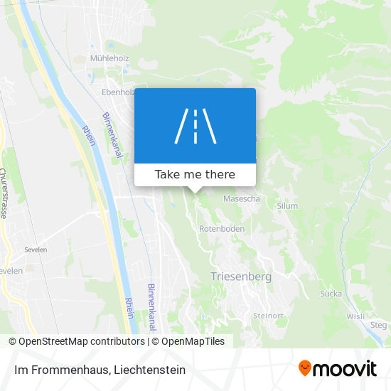 Im Frommenhaus map