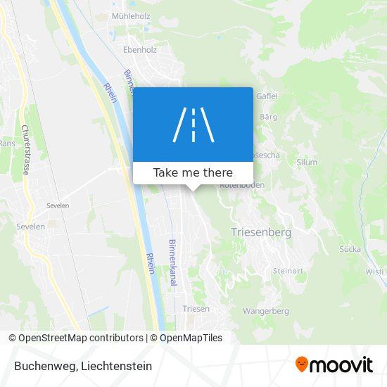 Buchenweg map