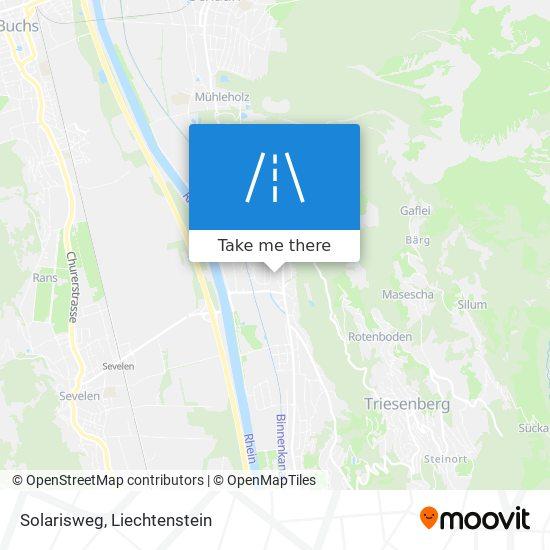 Solarisweg map