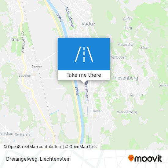 Dreiangelweg map
