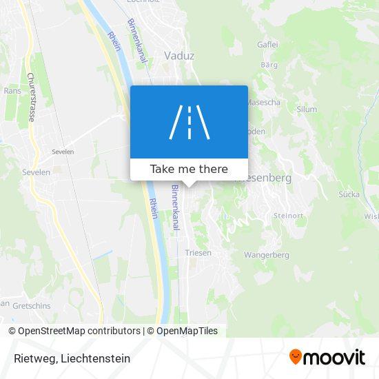 Rietweg map