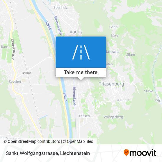 Sankt Wolfgangstrasse map