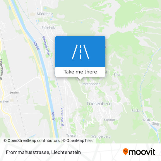 Frommahusstrasse map
