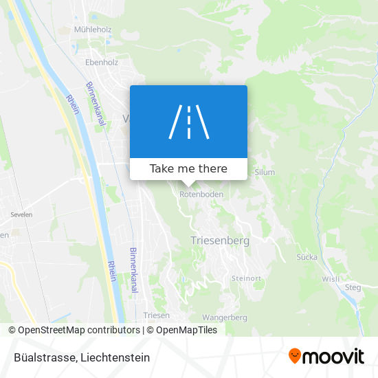 Büalstrasse map