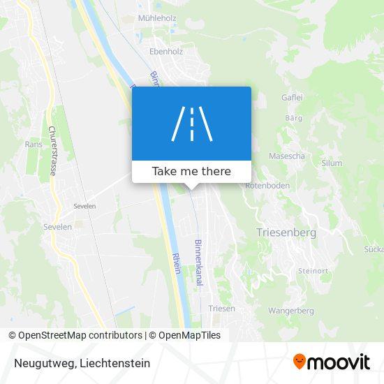 Neugutweg map