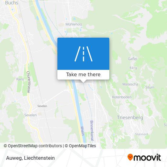 Auweg map