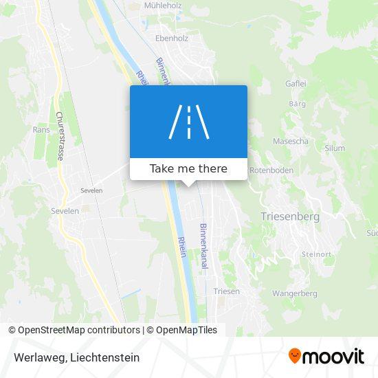 Werlaweg map