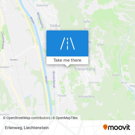 Erlenweg map
