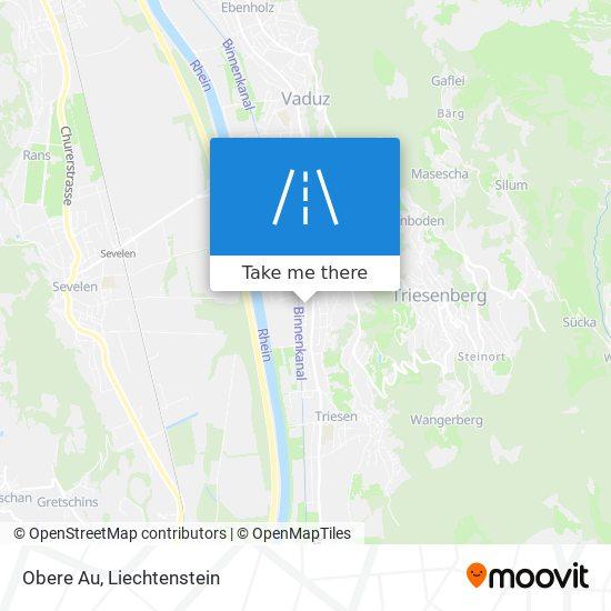 Obere Au map