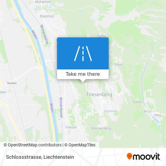 Schlossstrasse map