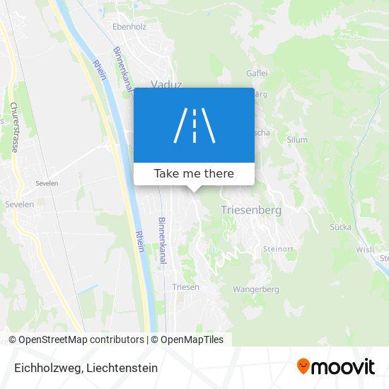 Eichholzweg map