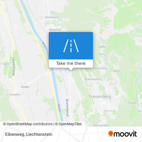 Eibenweg map