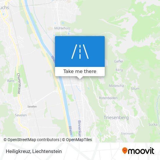 Heiligkreuz map
