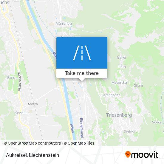 Aukreisel map