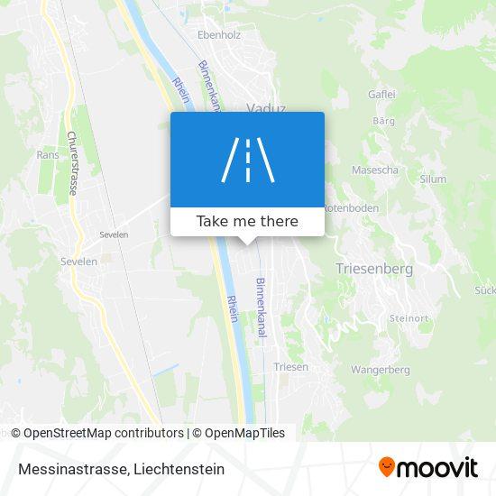 Messinastrasse map