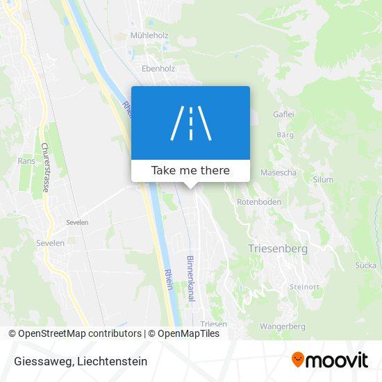Giessaweg map
